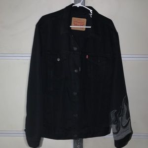 Custom Work Levis Denim Jacket